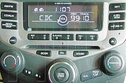 Honda Accord 6 CD Radio