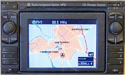 Blaupunkt VW Navigation