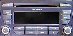 Audi Chorus 2Din