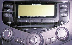 Honda Accord Premium 6CD Radio
