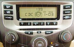 Honda Accord Single CD Radio