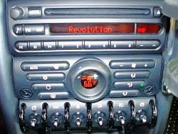 Autoradio Mini BMW R56