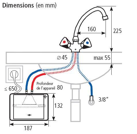 installation chauffe-eau instantané clage m3snm