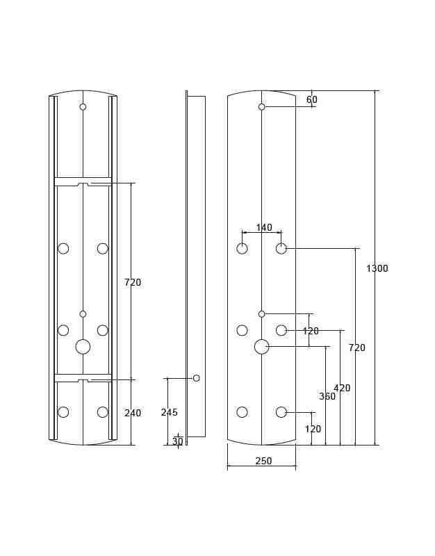 colonne de ouche hydromassante ABS
