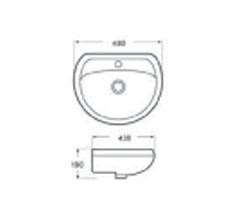 Lavabo vasque LT304G