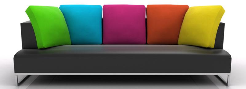 canapé moderne,canapé design,canapé tissu,canapé multicolore
