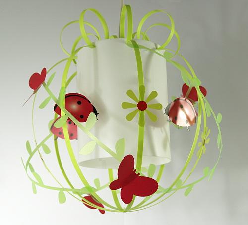 decoration coccinelle rouge