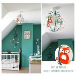 Décorer sa chambre bébé sur le thème renard.