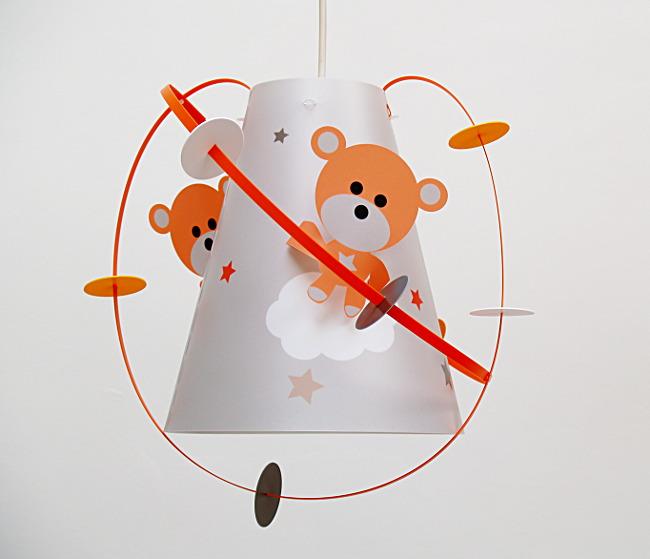 Luminaire chambre bébé ourson