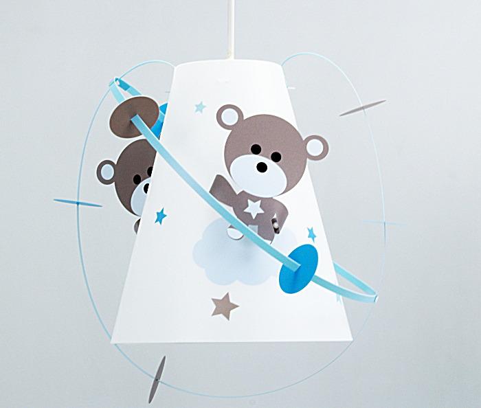 Suspension bébé ourson