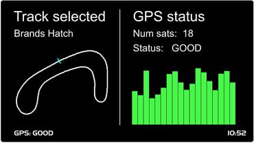 puissance signal GPS