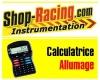 calculatrice avance allumage shop-racing