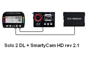 kit clio smartycam solo 2 dl shop-racing