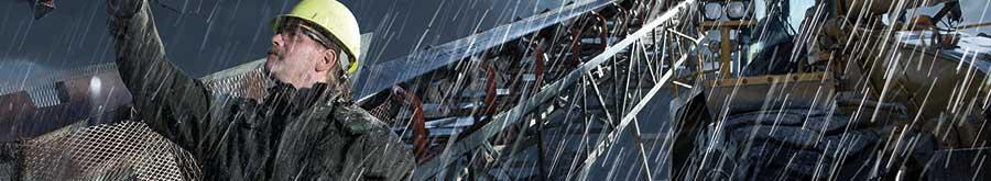Vetement de pluie travail