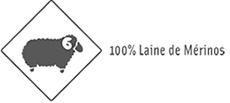 100% laine de Mérinos