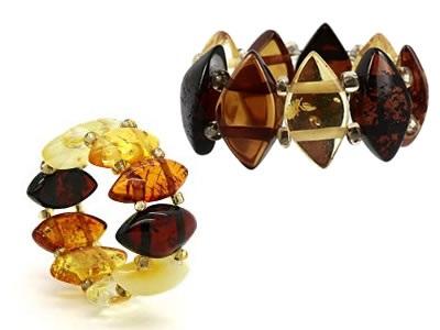 bague en ambre naturel - aromasud