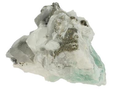 Calcite sur fluoine