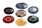 compositions 7 chakras objets et pierres