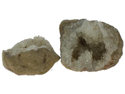 Géode Calcite double