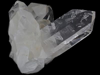 Cristal de Roche : gerbe