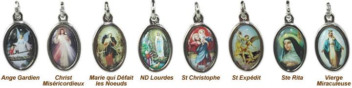 médailles religieuses des saints - aromasud