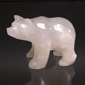 ours et grizzly en aragonite - aromasud