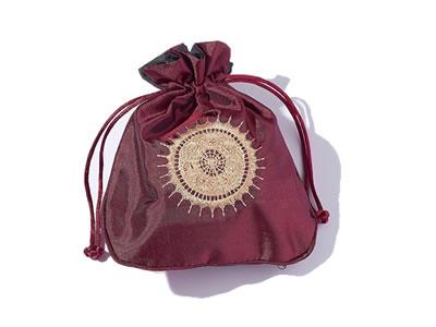 pochette et sac en soie à bijoux - aromasud