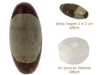 shiva lingam pièce unique de collection - aromasud