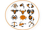 Pierres Calcite Blanche : Signes du Zodiaque