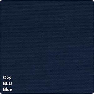 Tissu transat pouf bleu