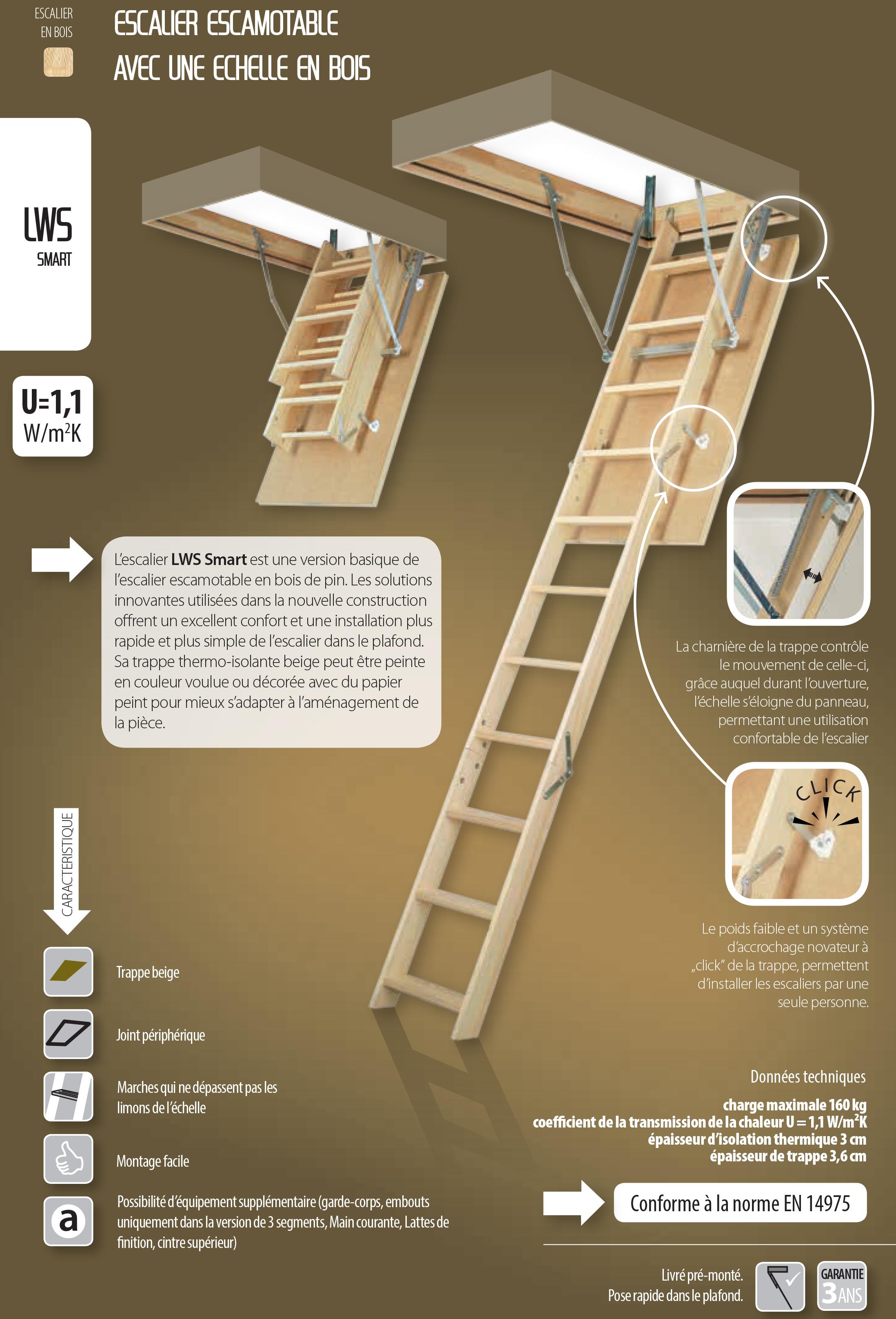 escalier fakro lws